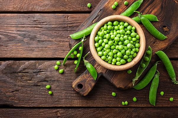 Contact peas